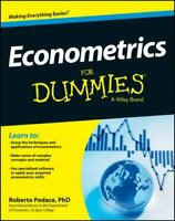 Econometrics For Dummies , Paperback , Pedace, Roberto