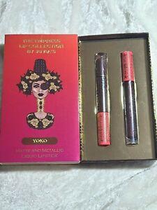 Juvia's Place The Empress Lip Collection Yoko Matte and Metallic Liquid Lipstick