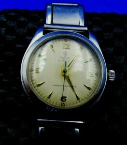 VINTAGE TUDOR SMALL ROSE WRIST WATCH GOOD CONDITION STAINLESS STEEL