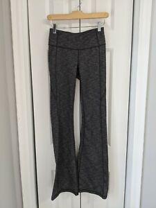 Women's Athleta Flare Yoga Pants Athletic Size Small Gray