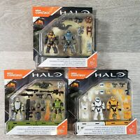 Halo Mega Construx UNSC Marines Spartan Armor Brute Weapons Customizer Pack Lot