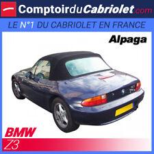 Bmw Z3 cabriolet - Capote en Alpaga Stayfast® noire avec poches latérales