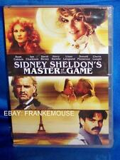 NEW SIDNEY SHELDON'S MASTER OF THE GAME MADE FOR TV MINISERIES 2 DISC DVD 1984
