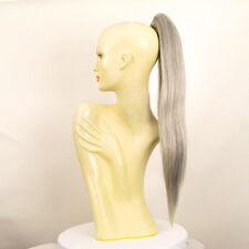 Hairpiece ponytail long 27.56 gray 7/l51 peruk