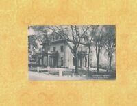 MA Fall River 1919-49 vintage postcard HISTORICAL SOCIETY BUILDING MASS