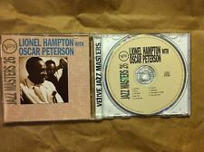 Verve Jazz Masters 26, Peterson, Hampton, Good Import, Original recording remas