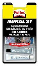 NURAL 21 PEGAMENTO SOLDADURA METALICA FRIO 22ML PEGA Y REPARA. ENVIO 48H