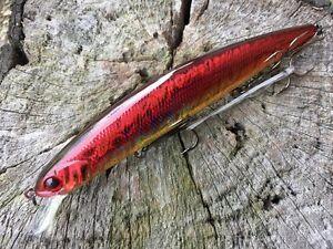 Barra Minnow 140mm Jerk Shad Fishing Lure GT Jacks Trevally Lures Free Post
