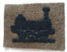 Insigne tissu patch SERVICE DU CHEMIN DE FER TRAIN 1917 1940  WWI WWII ORIGINAL