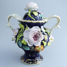 Coalbrookdale/Staffordshire antico ceramica inglese: un vaso pot pourri C.19thC