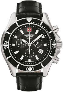 Swiss Alpine Military By Grovana Watch Chrono 7040.9537 Swiss Made New
