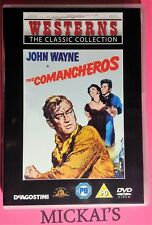 THE COMANCHEROS - WESTERNS THE CLASSIC COLLECTION WTCCN28 DeAGOSTINI DVD PAL OOP