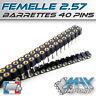 Barrette connexion 40 pins - Femelle Secable - Lots multiples, prix dégressif