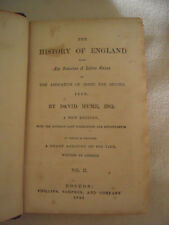 David Hume~THE HISTORY OF ENGLAND~VOLUME 2 ONLY~1854