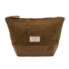 The British BAG COMPANY - STORNOWAY Harris Tweed Trousse de toilette