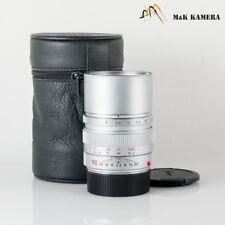 Leica Elmarit-M 90mm/F2.8 E46 Ver.II V2 Silver Lens Yr.1996 Germany #505