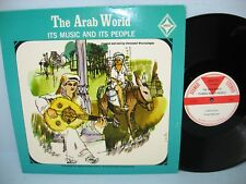 THE ARAB WORLD - ITS MUSIC AND ITS PEOPLE, Desto Records, w/Booklet