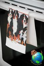 Bernese Mountain Dog Kitchen Hand Towel
