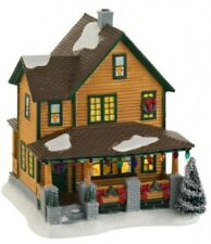 Dept 56 A Christmas Story Ralphie's House with Leg Lamp visible BRAND NEW