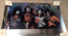 KISS Rainbow Barry Levine Chromium Lithograph Poster 1997 Love Gun Era Rare