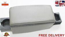 ARMREST CENTRE CONSOLE GREY ECO LEATHER for PEUGEOT 106 205 306 307 407 408