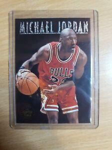 1993-94 SKYBOX PREMIUM MICHAEL JORDAN CENTER STAGE INSERT #CS1 Chicago Bulls