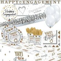 OMG! Engaged Engagement Party Supplies Tableware, Decorations, Balloons, Banners