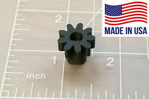 RCBS 87001 Rotary Tumbler Replacement 9T Pinion Drive Gear, Carbon Composite
