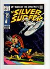 Silver Surfer #4 FN 6.0 VINTAGE Marvel Comic KEY Buscemi Classic Thor Cover