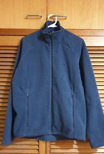 Macpac Fleece  Navy Blue Fleece Jacket Sz M