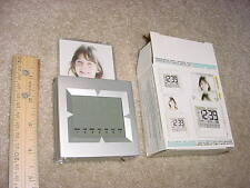 Photo Frame Alarm Clock - with Snooze, Date, Stop-Watch