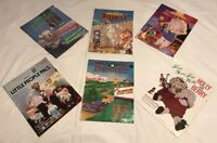 1980s Vtg Cabbage Patch Collector Booklets Lot Xavier Roberts Little People Pals
