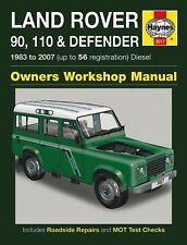 Reparaturhandbuch /- anleitung Land Rover 90, 110 & Defender 1983 - 2007