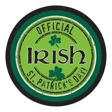 OFFICIAL IRISH ST PATRICKS DAY DESSERT PAPER PLATES PARTY DECORATION PACK OF 8