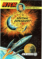 NICK Nr. 1 - Sputnik Explodiert ! - Sammlerausgabe N. Hethke Verlag (1995-2007)
