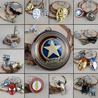 Wholesale The Avengers Marvel Captain America Comics Keychains Keyring Key Chain