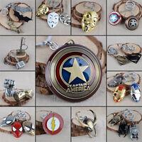 Wholesale The Avengers Marvel Captain America Comics Keychains Keyring Key Chain