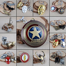 The Avengers Marvel Character Captain America Thor Hulk Batman KeyChain Keyrings