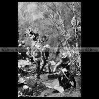 #phm.56221 Photo J LAMPKIN FANTIC 240 SSDT SCOTTISH SIX DAYS TRIAL 1983 Moto
