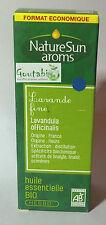 NatureSun Aroms - Huile essentielle Lavande Fine / Vraie Bio - 30 ml