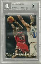 1993-94 Stadium Club 169  Michael Jordan BGS 9 9.5 9.5 9 8.5  Chicago Bulls MINT