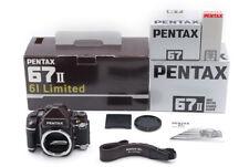 【Rare Mint】 PENTAX 67II 67 ii AE 61 Limited Medium Format Film Camera From Japan