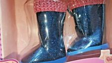 """Glitter Girls """"Rainy Day Shine!"""" boots 14-inch Doll blue sparkle New LAST ONE"""