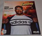 MINT! Eastbay Catalog VON MILLER Cover Denver Broncos #58 Adidas (August 2013)