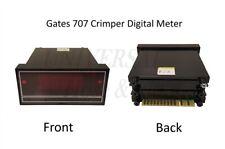 Gates 707 Hydraulic Hose Crimper Replacement Digital Meter 78740 / 7482-0280