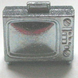 light pewter tv television Monopoly Stranger Things Edition token replacement
