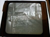 Antique Glass Negative Photo COAL MINERS SORTING COAL IN BREAKER SCRANTON PA