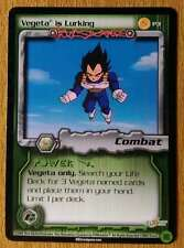 VEGETA IS LURKING [Light Play] P3 Cell Games Promo Dragon Ball Z Ccg Dbz Score