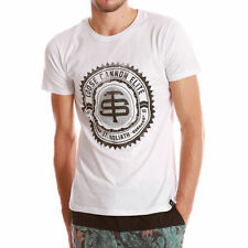 Cotton Short Sleeve Basic Tees Geometric T-Shirts for Men
