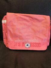 "Pink Converse All Star Messenger School Bag 15x12x3""satchel Style- Quick Sale"